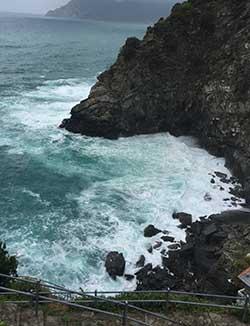 Corniglia - swimming