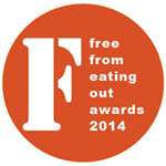 FreeFrom Eating Out Awards 2014