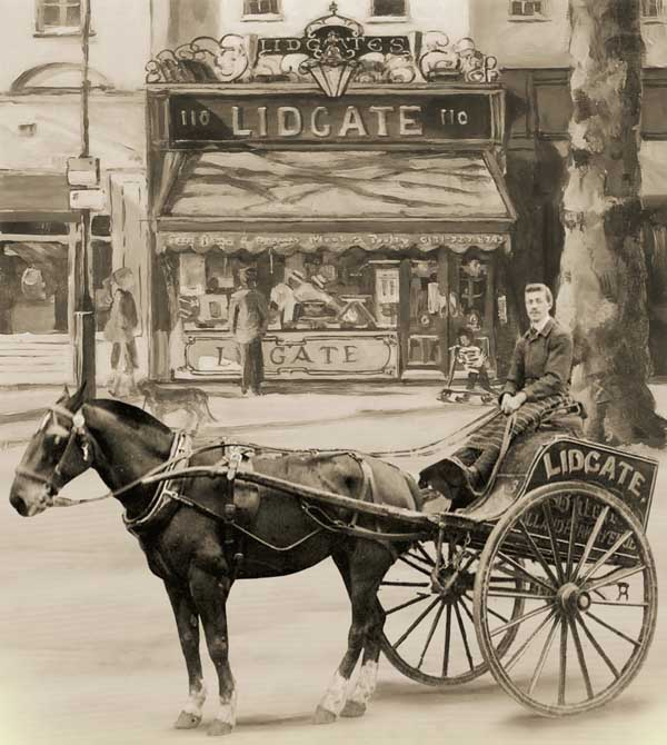 Lidgates horse and cart