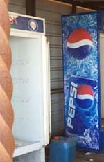 Pepsi on top monastery