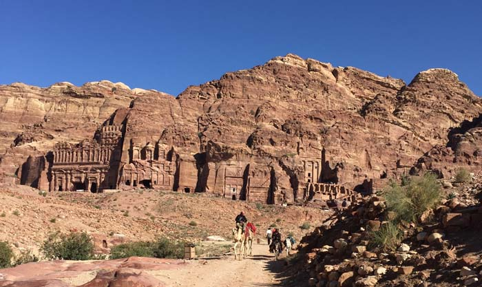 Royal tombs & camels