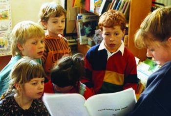 Small Children at school