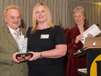 Antony Worrall Thompson with Emma John son of Bessant and Drury