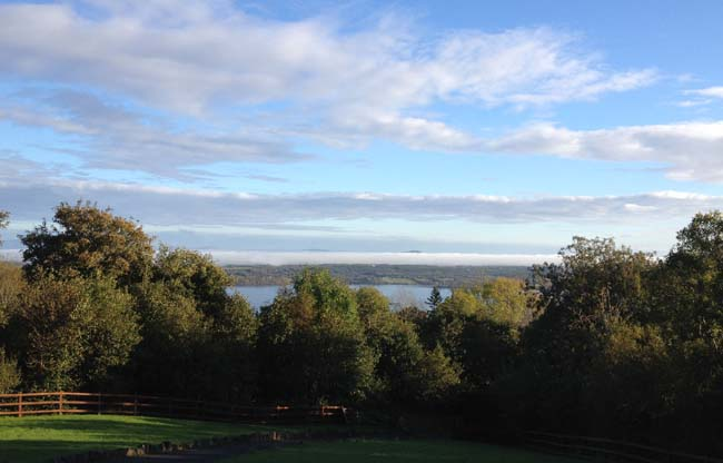 Lough Melvin from house