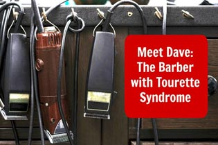 The Barber with Tourette-syndrome
